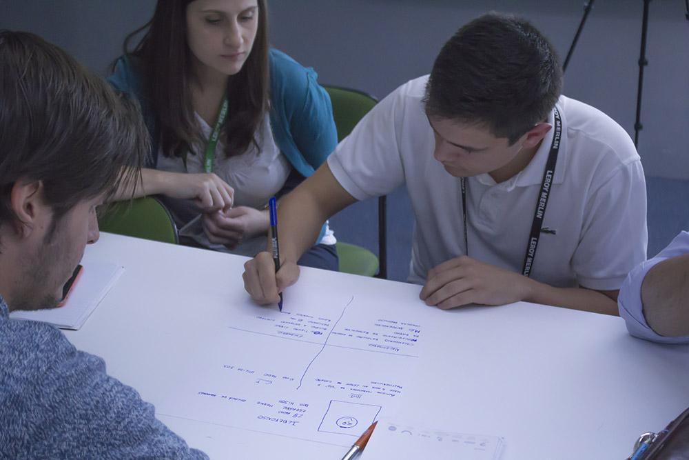 Leroy Merlin, Workshop, Diseño de Servicios
